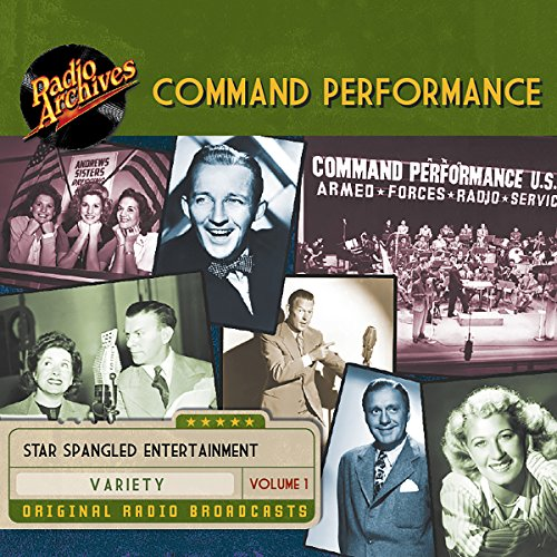 Command Performance, Volume 1 audiobook cover art