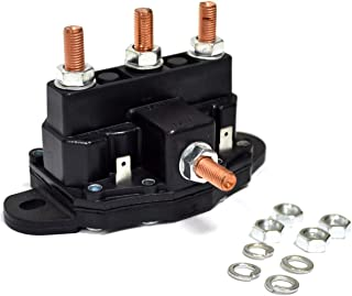 Winch Motor Reversing Solenoid Contactor Relay 6 Terminal Trombetta Style Large