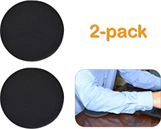 Desk Dots! Elbow, Arm & Wrist Rest Work & Gaming Surface Cushioning Pads for Pressure Point & Pain Relief; Made of Neoprene, Soft Nylon Surface; 4.5