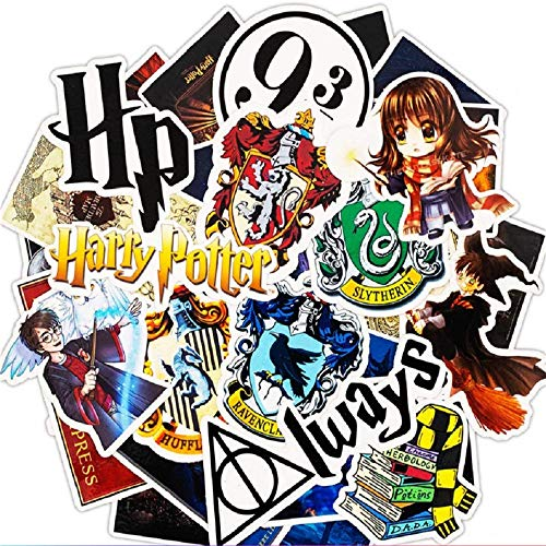 Top Aufkleber! Set von 30 Harry Potter Aufkleber Premium Qualität - Vinyls Stickers Nicht Vulgär – Fashion, Stil, Bombe, Graffiti - Anpassung Laptop, Gepäck, Motorrad, Fahrrad, Skateboard