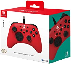 HORI HORIPAD Wired Controller - Red for Nintendo Switch