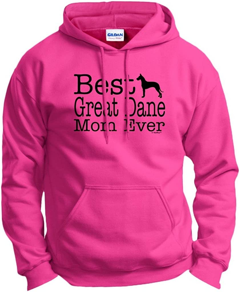 ThisWear Dog Lover Super beauty product restock quality top Gift Best Max 75% OFF Great Mom Dane Hoodie Ever Sweatshi