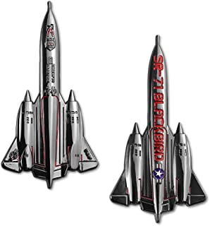 SR-71 Blackbird Military Aircraft Shaped Air Force Challenge Coin