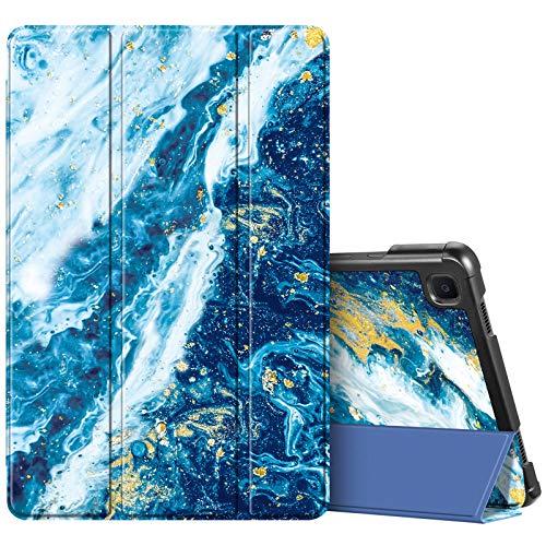 Fintie SlimShell Funda para Samsung Galaxy Tab A7 10.4' 2020 - Carcasa Fina y Ligera con Función de Soporte y Auto-Reposo/Activación para Modelo SM-T500/T505/T507, Azul Océano