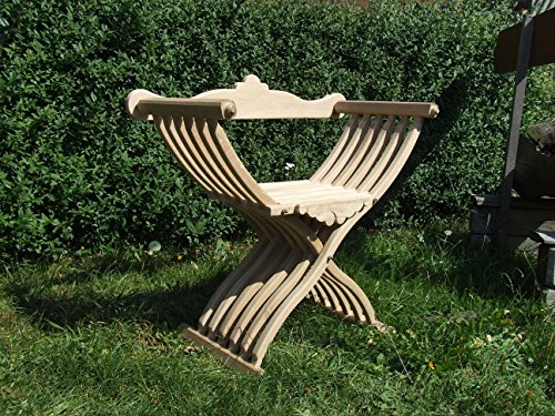 Decowa Silla de madera de abeto medieval Larp
