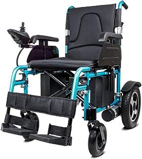 HDGZ Silla de Ruedas eléctrica, Silla de Ruedas eléctrica Plegable Plegable y Ligera Plegable, sillas de Ruedas motorizadas de Alta Potencia eléctrica, Scooter de Movilidad