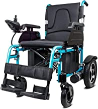 zdw Electric Wheelchair, Fold Folding Foldable Lightweight Power Wheel Chair, Heavy Duty Electric Power Motorized Wheelchairs, Mobility Scooter