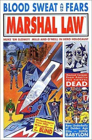 Marshal Law: Blood, Sweat, and Fears