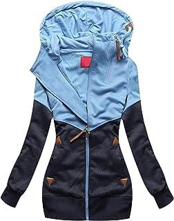 8d26df87bbbaea Sweatjacke Damen Kapuzenjacke Oversized Sweatshirt Hoodie Jacke Damen mit Kapuze  Hoodies Sweatshirtjacke Sweatshirts Sweatjacken Frauen Kapuzenpullover