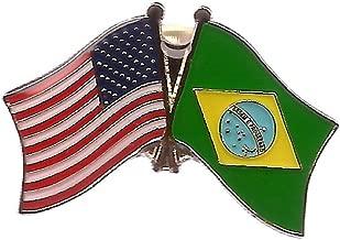 brazil pin badge