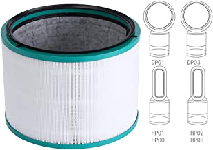 Replacement Filter, for Dyson Pure Hot + Cool Link HP02 HEPA Air Purifier, Dyson Pure Cool Link Desk Purifier, Part no. 968125-03