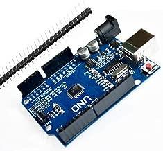 UNO R3 ATmega328P Development Board Compatible Arduino UNO R3 Arduino IDE Develope Kit Microcontroller with USB Cable