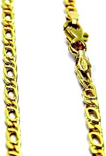 Collana da Uomo in Oro Giallo 18kt (750) Catena Modello Pernice Cm 50 Catenina Maglia Classica