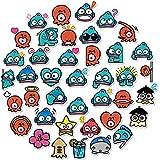 50 Unids/Set Ocean Cartoon Sea World Bio Pegatina para Niños Accesorios de Bricolaje Moto Patineta Teléfono móvil Refrigerador Portátil