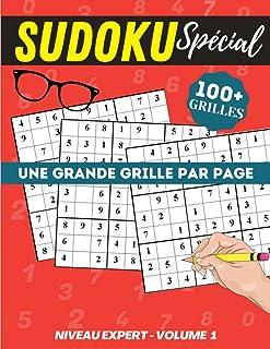 Sudoku expert volume 1: Cahier spécial gros caractères, très lisible   120p Grand Format 21 x 29,7cm   Une grande grille p...