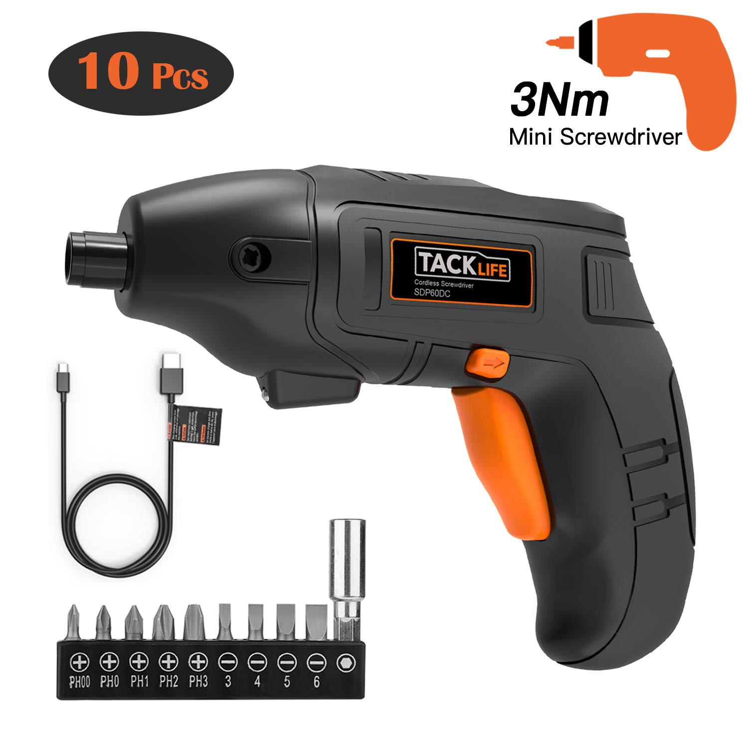 Electric Screwdriver Rechargeable Experienced Light SDP60DC