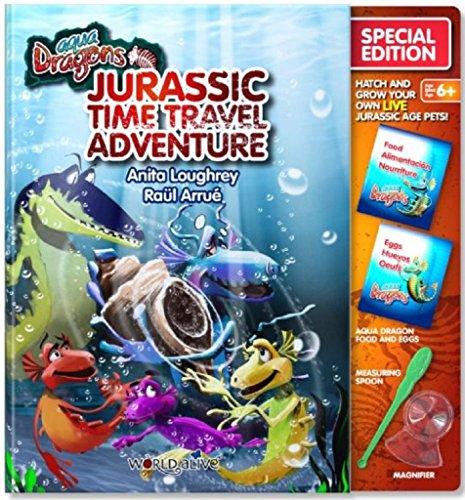 Aqua Dragons Enfants Jurassique Temps Voyage Aventure Créatures Aquatiques Jouet pour Enfant
