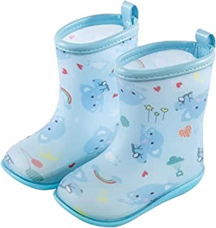 Gummistiefel Regenschuh für Kinder und Babys wasserdicht