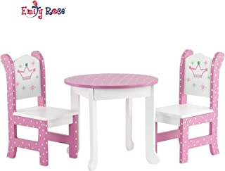 Emily Rose 18 Inch Doll Furniture Fits American Girl Dolls - 18