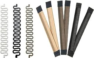 Magic Bun Makers,Donut Hair,Hair Braiding Tool French Centipede Braiders,Easy Bun Hair Tool Set 6P