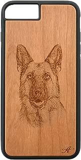 laser engraved wood iphone case