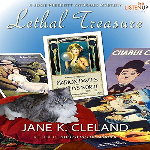 Lethal Treasure audiobook cover art