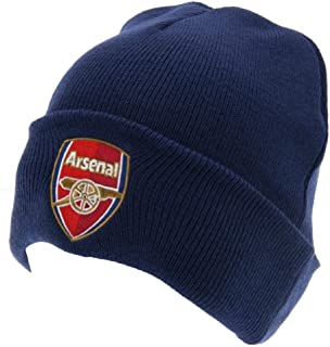 Arsenal FC Unisex Adults TU Crest Knitted Hat