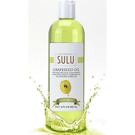 100 Puro Sin Refinar Orgánico Aceite De Semilla De Uva 4 Onza Beauty