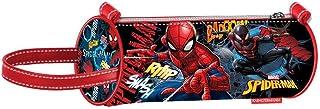 Spiderman Smash-Zylinder Federmäppchen Trousses, Bleu