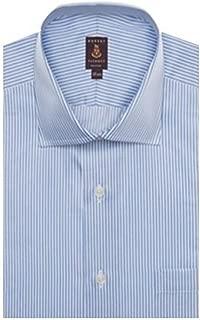 Blue and White Stripe Sutter Dress Shirt