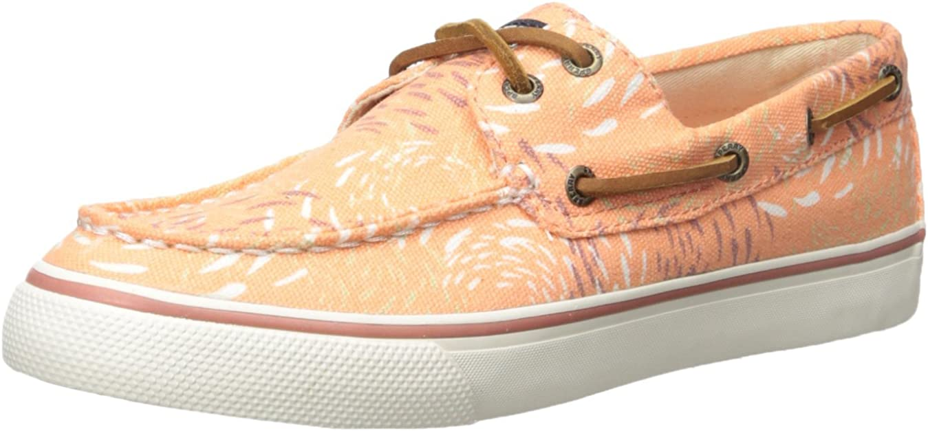 Sperry Women's Bahama Fish Circle Coral Fashion Sneaker