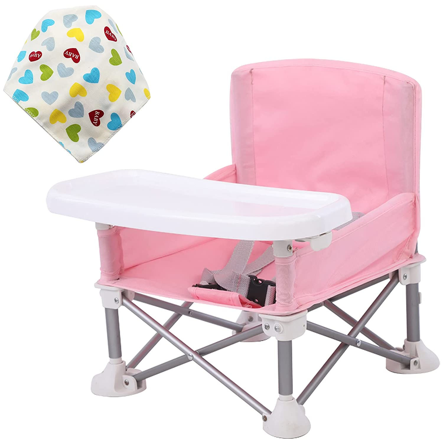 Children's Baby Dining Chair Foldable seat with and Out Popular brand in Las Vegas Mall the world Tray Bag
