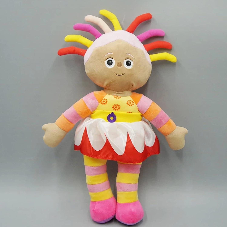 Linrunzi Cartoon in The Night Garden Plush Toy, Upsy Daisy Plushies, Soft Animal Stuffed Dolls, Birthday Gifts for Kids Boys and Girls, 40cm