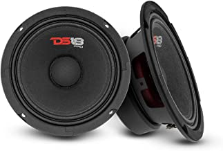"$49 » DS18 2X PRO-GM6 Loudspeaker - 6.5"", Midrange, Black Steel Basket, 480W Max, 140W RMS, 8 Ohms - Premium Quality Audio Door ..."