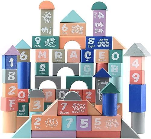 el precio más bajo Amyove Amyove Amyove 82 UNIDS   Set Bloques de Construcción Alfabeto de Macarons Niños Rompecabezas Forma Educativa Temprana Juguetes Cognitivos  Envío y cambio gratis.