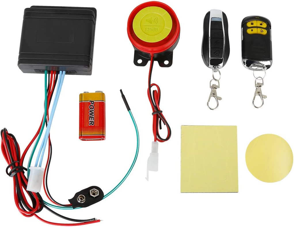Sales for sale F FIERCE CYCLE Complete Free Shipping 1 Set Motorcycle Engine System Bike Alarm Scooter