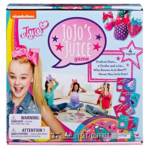 Cardinal 6044217 JoJo Siwa JoJo' S Juice Trivia Game, Multicolor, One Size