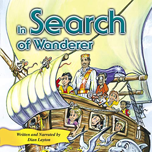 In Search of Wanderer audiobook cover art