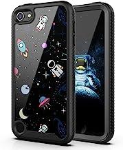 PBRO iPod Touch 7 Case/iPod Touch 6 Case/iPod Touch 5 Case Cute Astronaut Case Dual Layer Hybrid Anti-Slip Sturdy Case Rug...