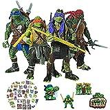 Teenage Mutant Ninja Turtles Ninja Turtles Toys Set Superhero Movie TMNT Action Figures Ninja Turtles Toy Set 4pcs