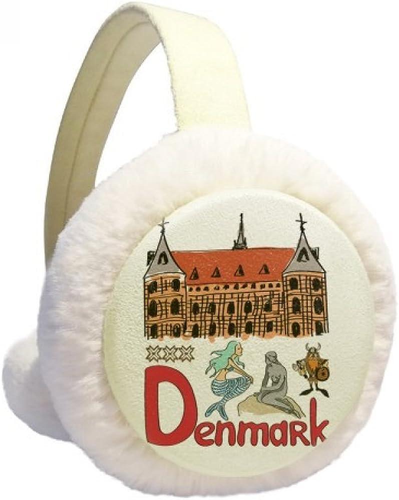 Demark National symbol Landmark Ranking Sale SALE% OFF TOP14 Pattern Ear Warmer Winter Cable