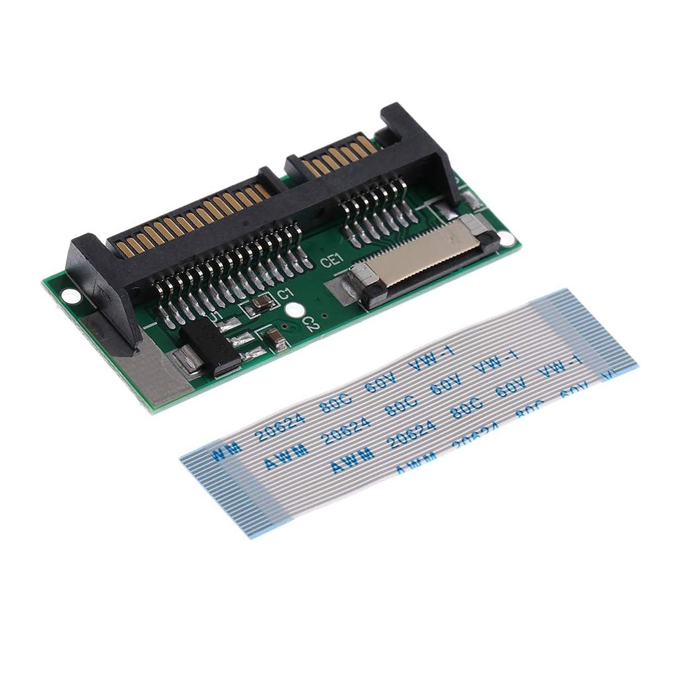 深さ彼らは病的アクセサリー 1.8インチCE SSD→2.5インチSATAカード 22ピン SATA→24ピン LIF/ZIF HDD アダプター