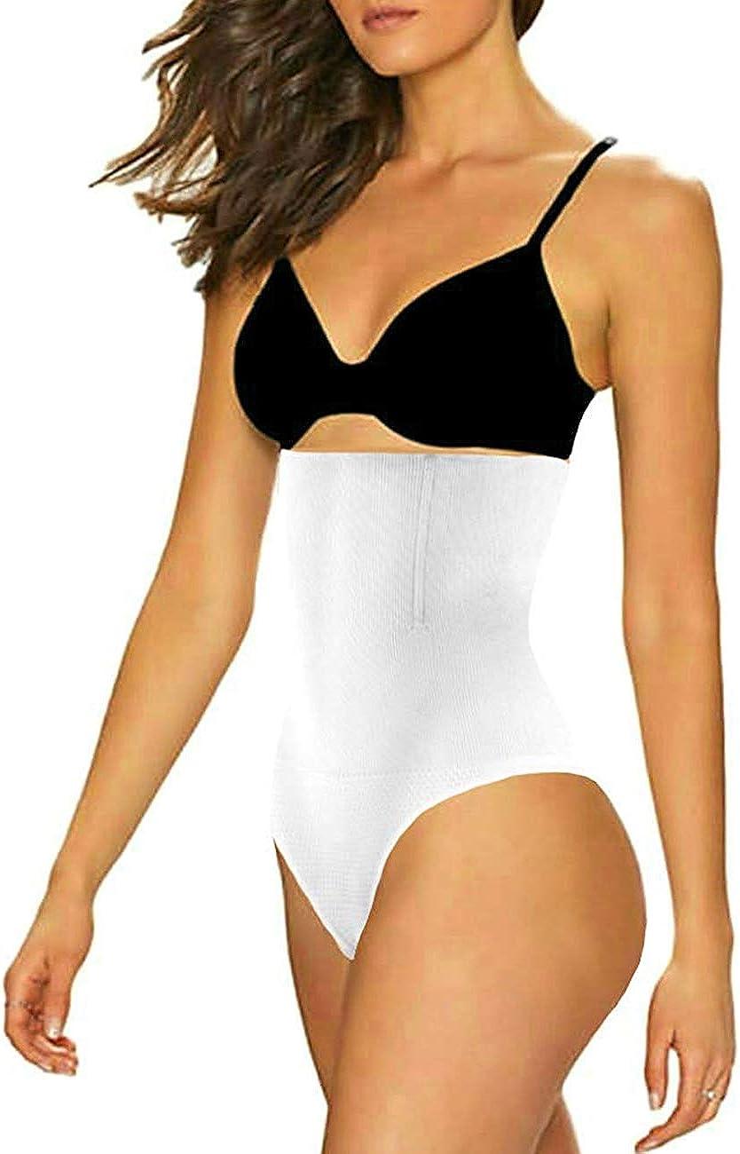 Pro Sonsy Women High Waist Cincher Trainer Panties Body Shaper Underwear Tummy Control Thong Shapewear