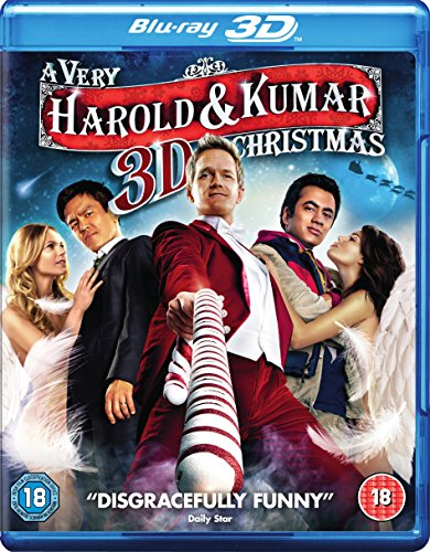 A Very Harold & Kumar 3D Christmas (Blu-ray 3D + Blu-ray + UV Copy) [2011] [Region Free]