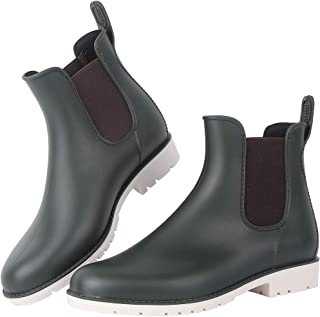 Best green ankle rain boots Reviews