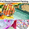 5D Diamond Painting Kits for Adults 2-Piece Art Set,Full Drill Crystal Rhinestone Embroidery Pictures Arts Craft,Canvas,Cross Stitch, Diamond Art are All Part of Home Entertainment Decoration #2