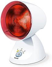 Beurer infraroodlamp IL35, weldadig en behaaglijk warm infraroodlicht met timer met 3 standen en met 5 hellingshoeken, vo...