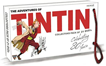 The Adventures of Tintin - Complete Series - All 39 Episodes - 21 Disc Set