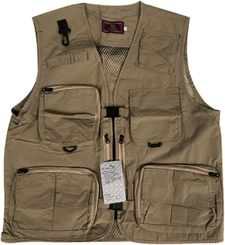 XIURAB Fishing Vest Ranking TOP15 Breatha Quick-Drying sale Multifunctional