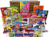 VINTAGE CANDY CO. 1980's RETRO CANDY GIFT BOX - 80s Nostalgia Candies - Flashback EIGHTIES Fun Gag Gift Basket - PERFECT '80s Candies For Adults, College Students, Men or Women, Kids, Teens